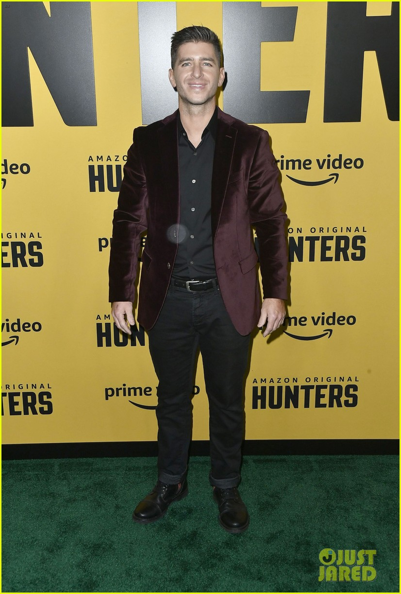 al pacino logan lerman more stars hunters amazon premiere 114439636
