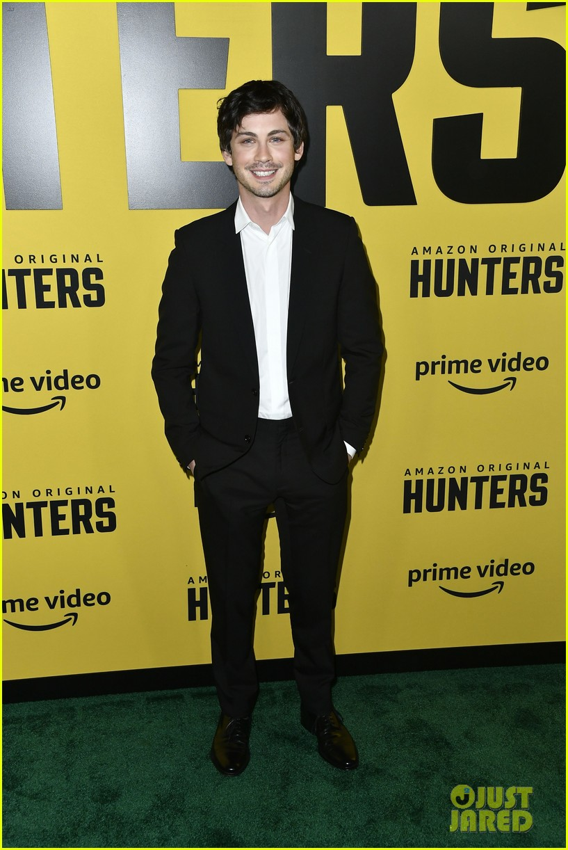 al pacino logan lerman more stars hunters amazon premiere 154439640