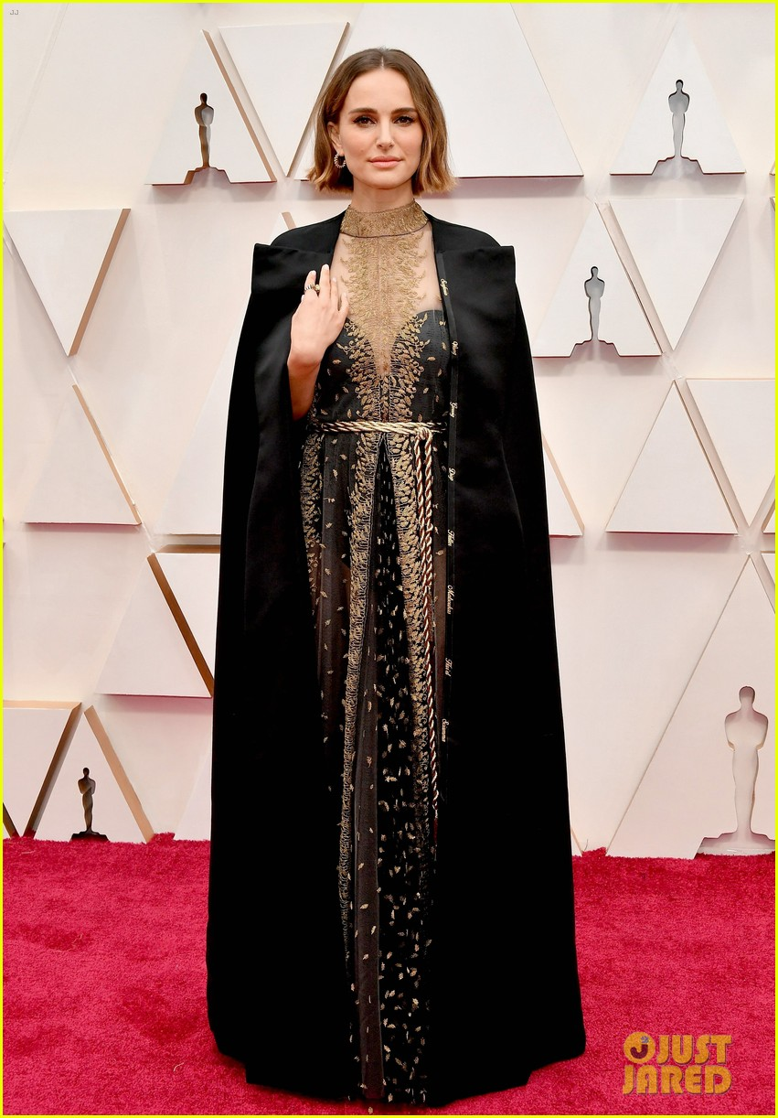 natalie portman oscars 2020 dress embroidered female directors who werent nominated 074433763