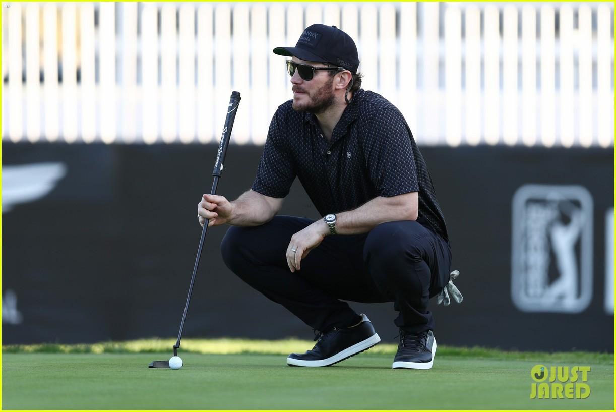 chris pratt josh duhamel golf tournament 014436644