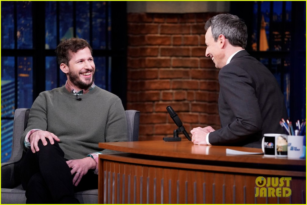 andy samberg performs sensitive bully rejected snl sketch on late night 074430032