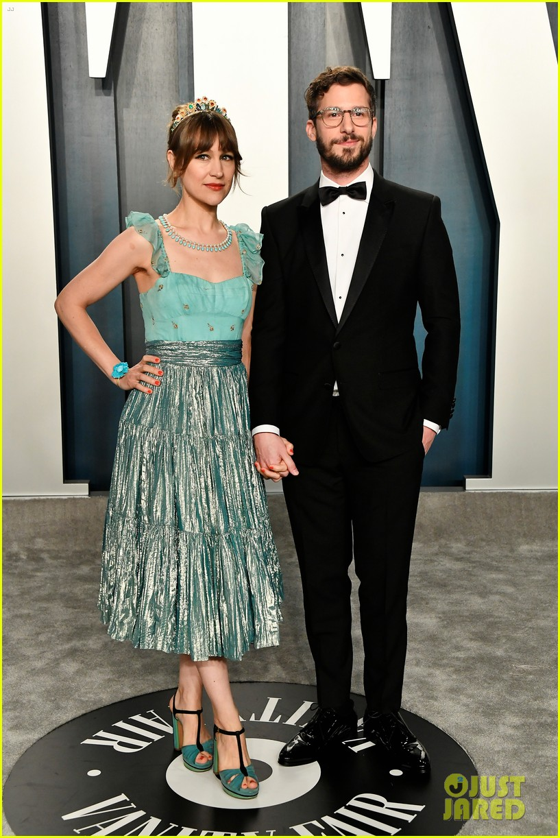 andy samberg adam scott wives vanity fair oscar party 014435752