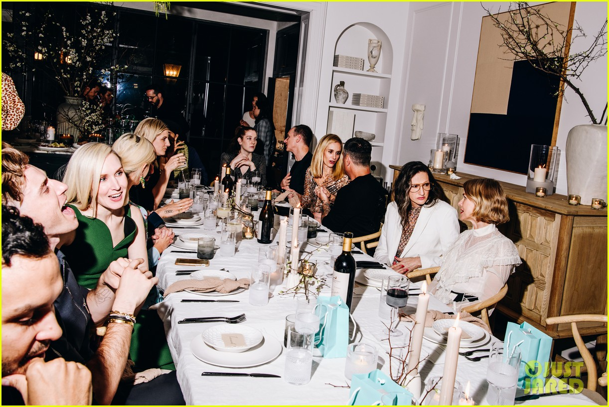 naomi watts raises toast for athena calderone at live beautiful launch dinner 054442038