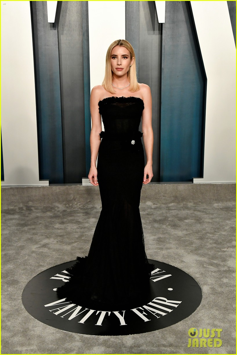 Olivia Wilde Reveals The Hilarious Pros Cons Of Her Vanity Fair Oscar Party Outfit Photo 4435862 2020 Oscars Parties Aubrey Plaza Emma Roberts Grace Gummer Kate Bosworth Mamie Gummer Michael