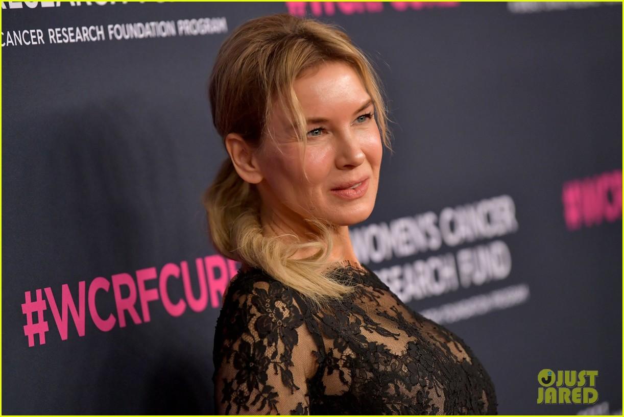 renee zellweger makes first appearance since winning oscar womens cancer research fund 024443581