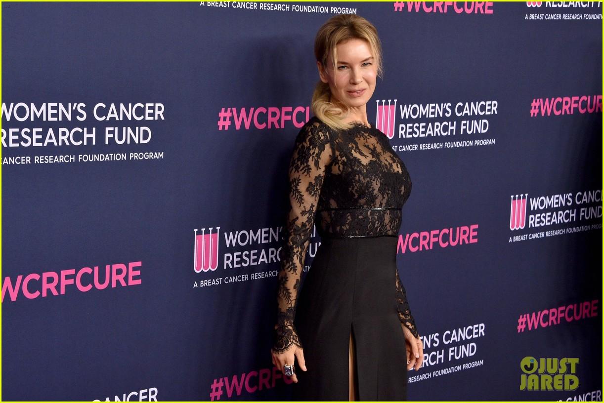renee zellweger makes first appearance since winning oscar womens cancer research fund 054443584