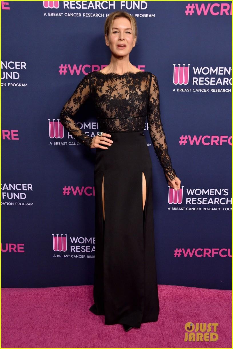 renee zellweger makes first appearance since winning oscar womens cancer research fund 124443591