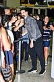 backstreet boys greet fans at airport in brazil after canceling concert due to coronavirus 07