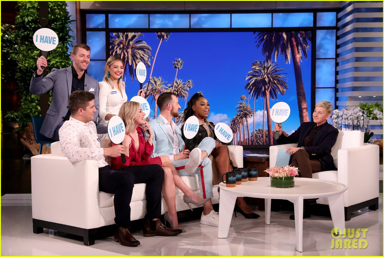love is blind stars reveal how they ended up on the show on ellen video 024448177