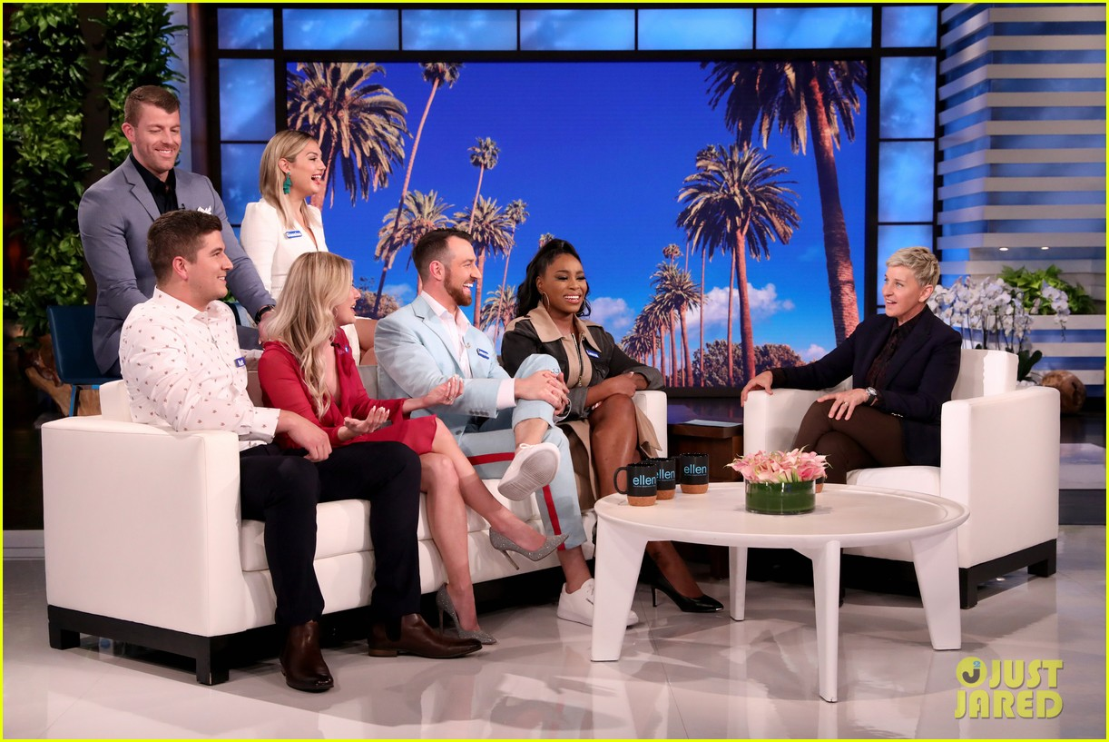 love is blind stars reveal how they ended up on the show on ellen video 044448179