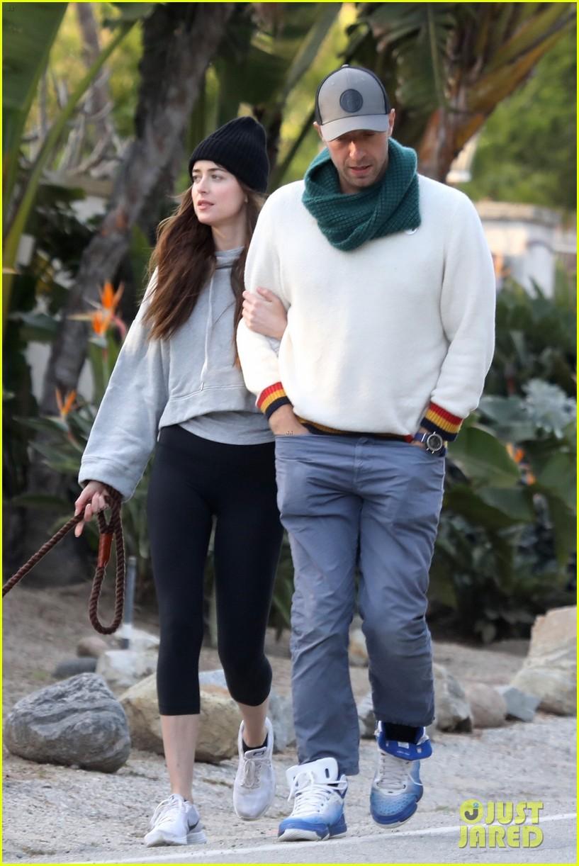 Dakota Johnson & Chris Martin Step Out for a Stroll Amid ...