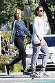 gwyneth paltrow brad falchuk walk sunny day 01