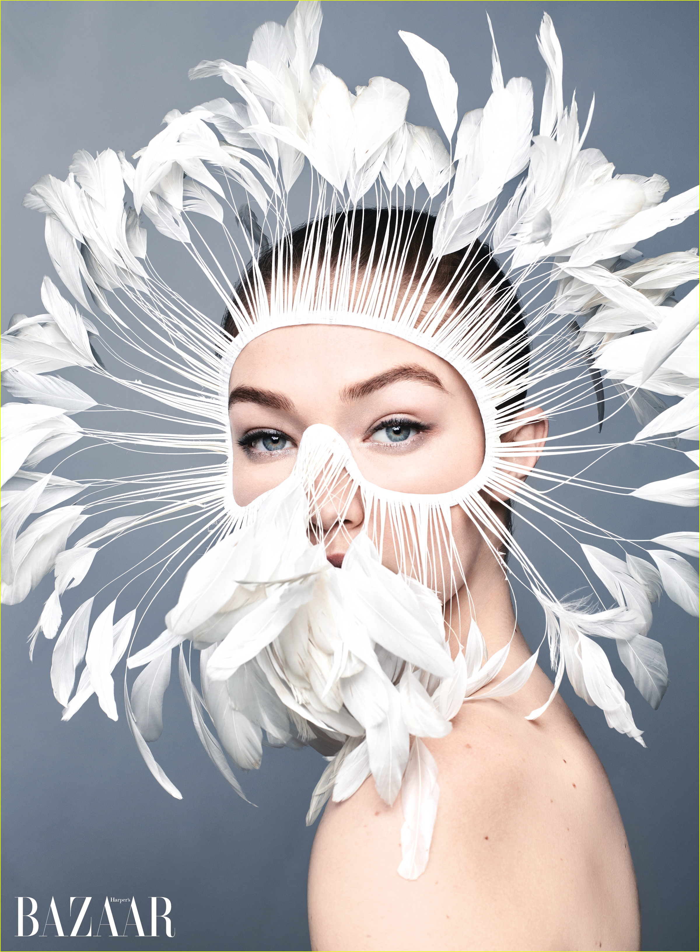 gigi hadid interviewed by taylor swift kendall jenner for harpers bazaar 034449683