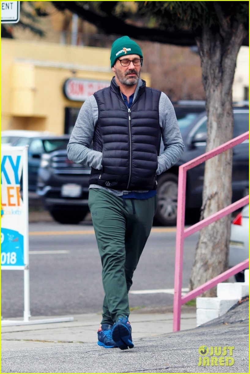 jon hamm goes for solo stroll 104450149