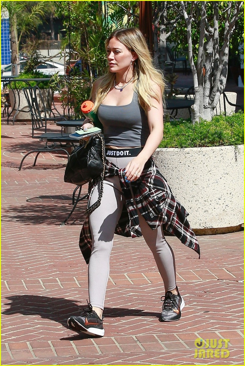 hilary duff son luca teaching her about sustainability 034447000