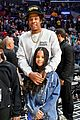 jay z blue ivy father daughter outing lakers game 08