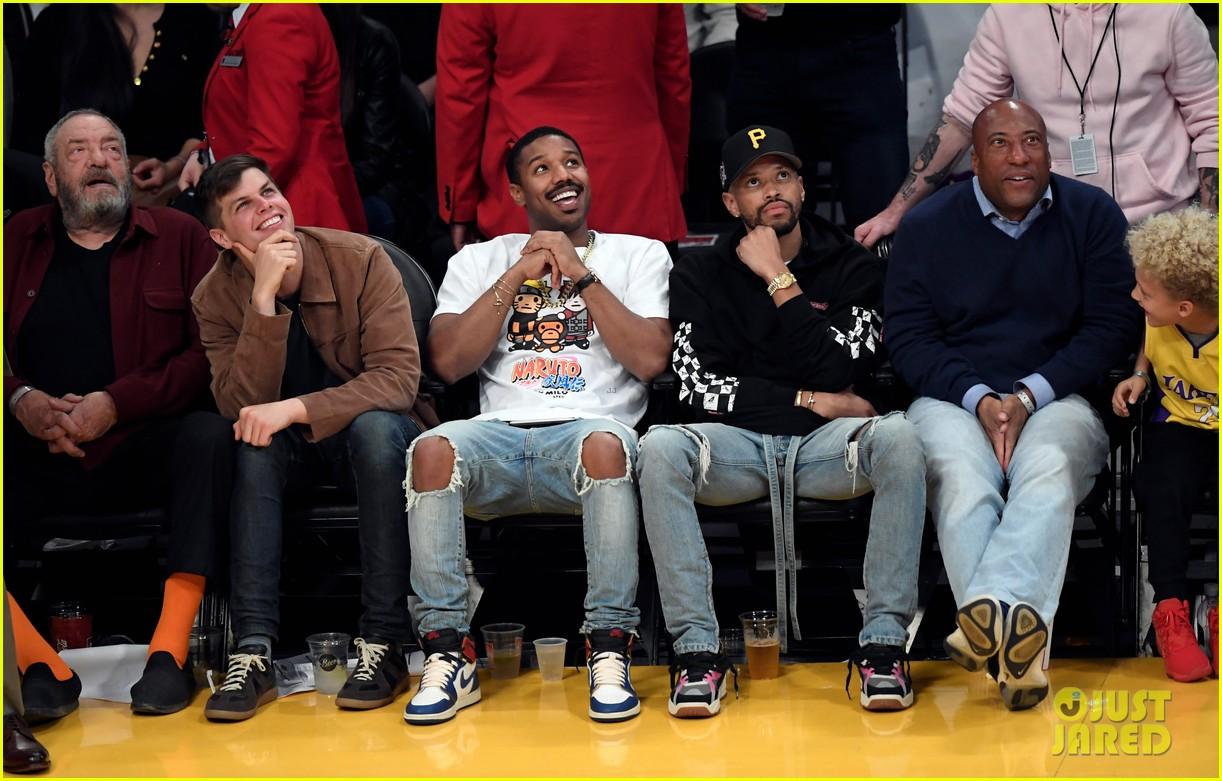 Michael B. Jordan Hangs Out with Jay-Z