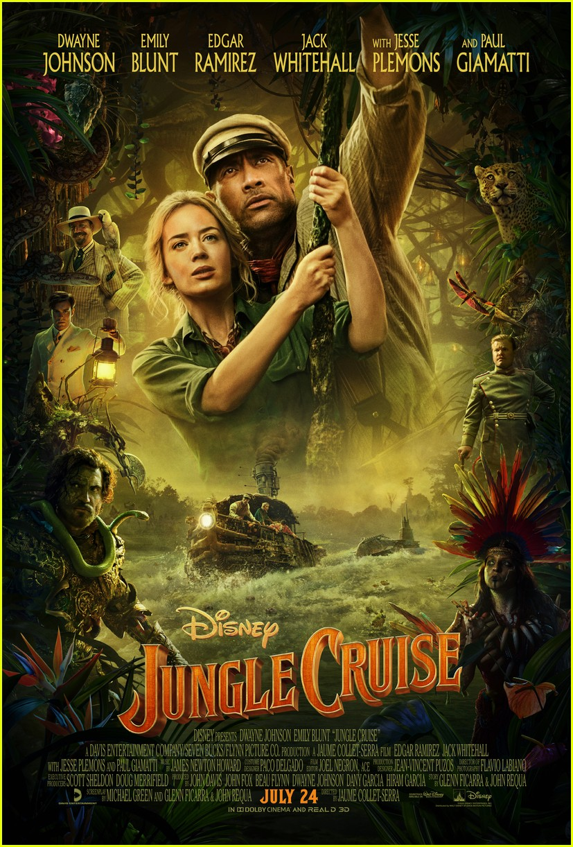 jungle cruise trailer takes dwayne johnson and emily blunt amazon adventure 014448142