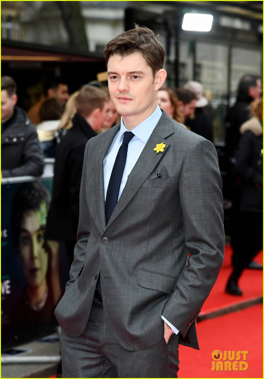 rosamund pike sam riley others radioactive uk premiere 134447303
