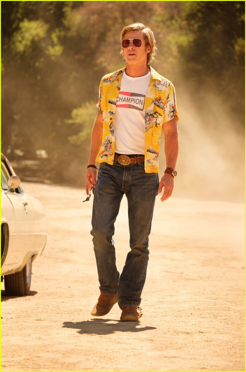 brad pitt in once upon a time in hollywood 014452263