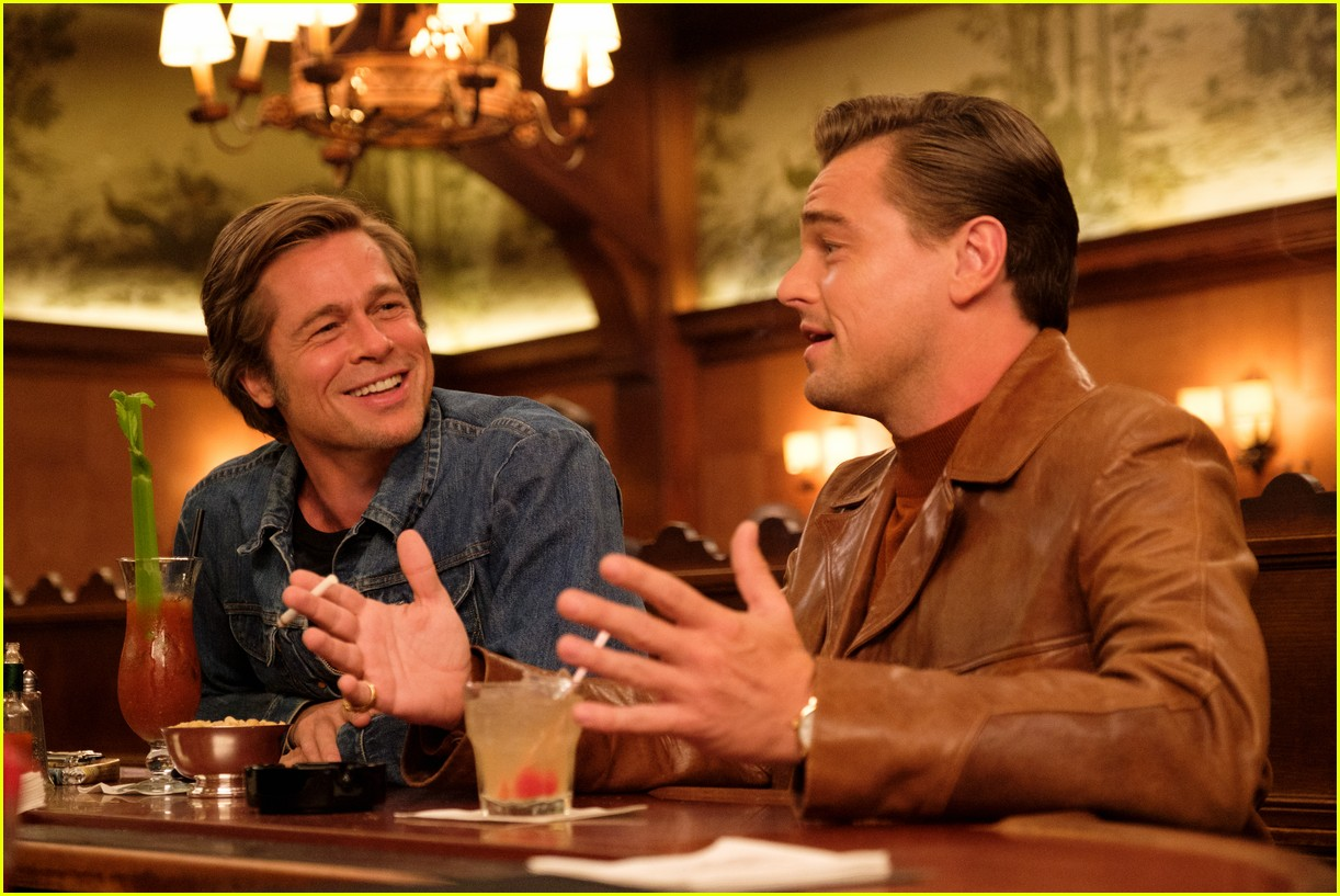 brad pitt in once upon a time in hollywood 054452267