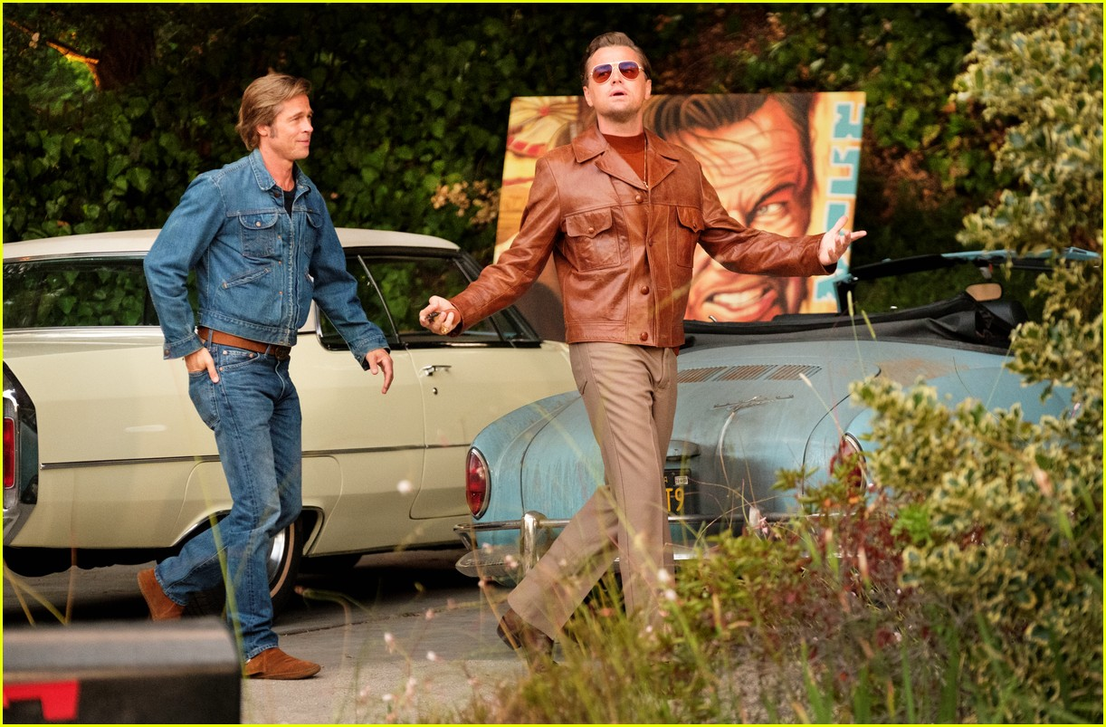 brad pitt in once upon a time in hollywood 064452268