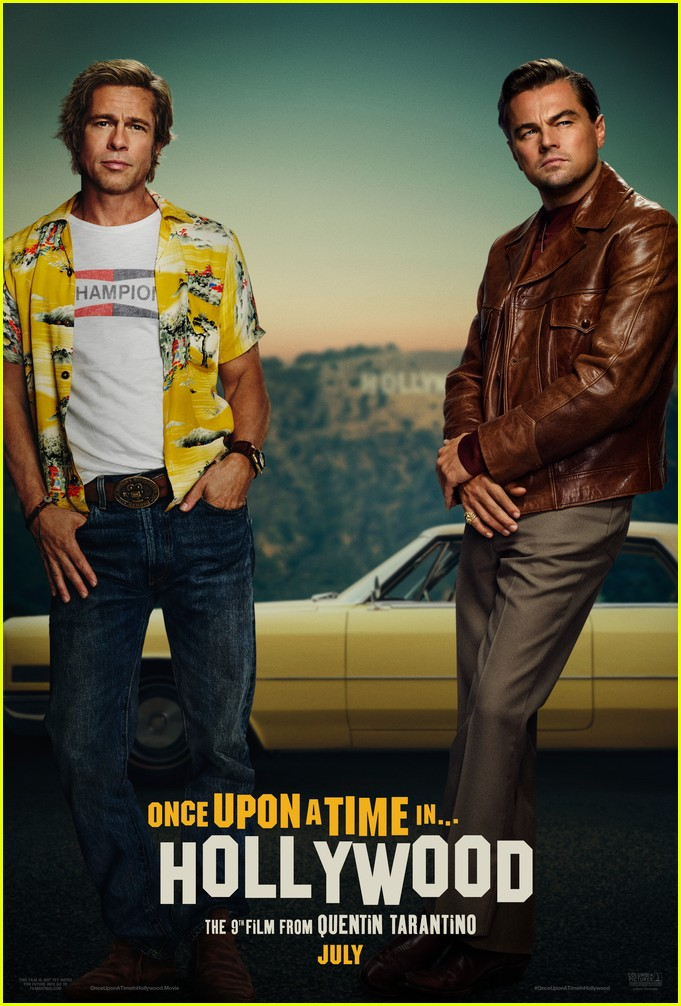 brad pitt in once upon a time in hollywood 074452269