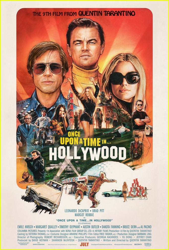 brad pitt in once upon a time in hollywood 084452270