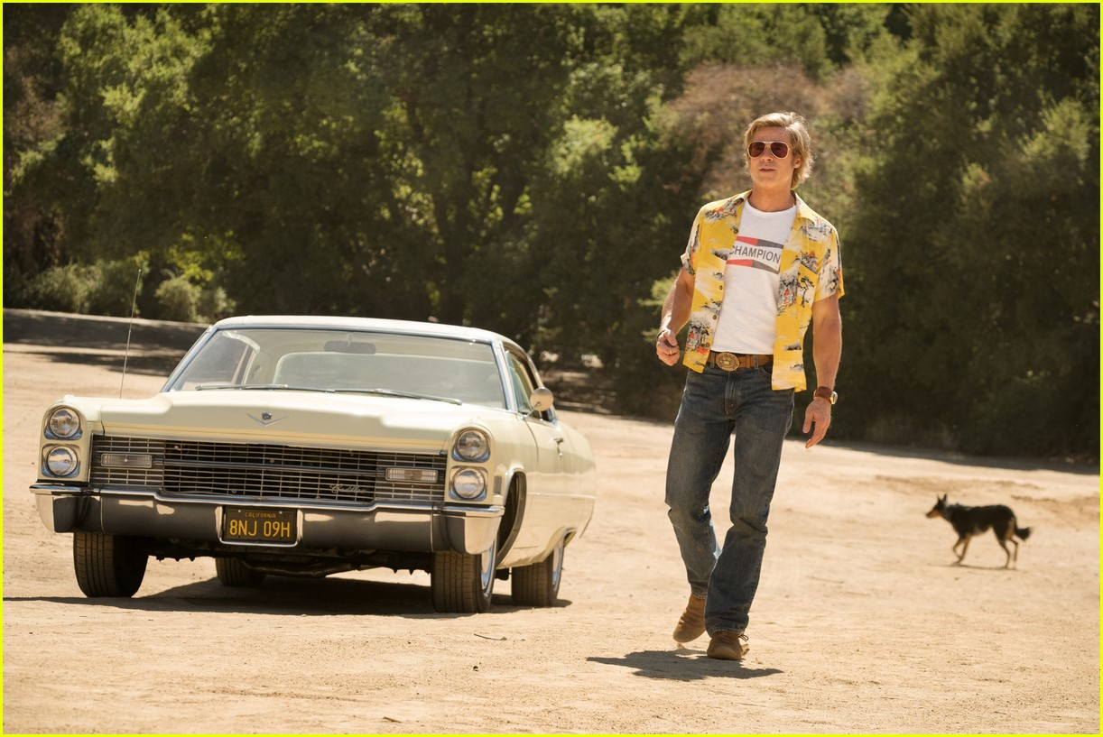 brad pitt in once upon a time in hollywood 104452272