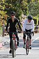 dennis quaid biking with fiancee laura savoie 09
