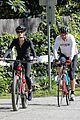 dennis quaid biking with fiancee laura savoie 13
