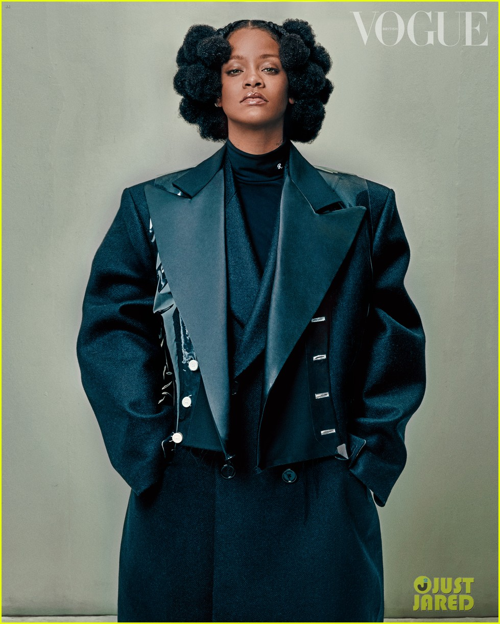 rihanna tells british vogue shes very aggressively working on music 024452004