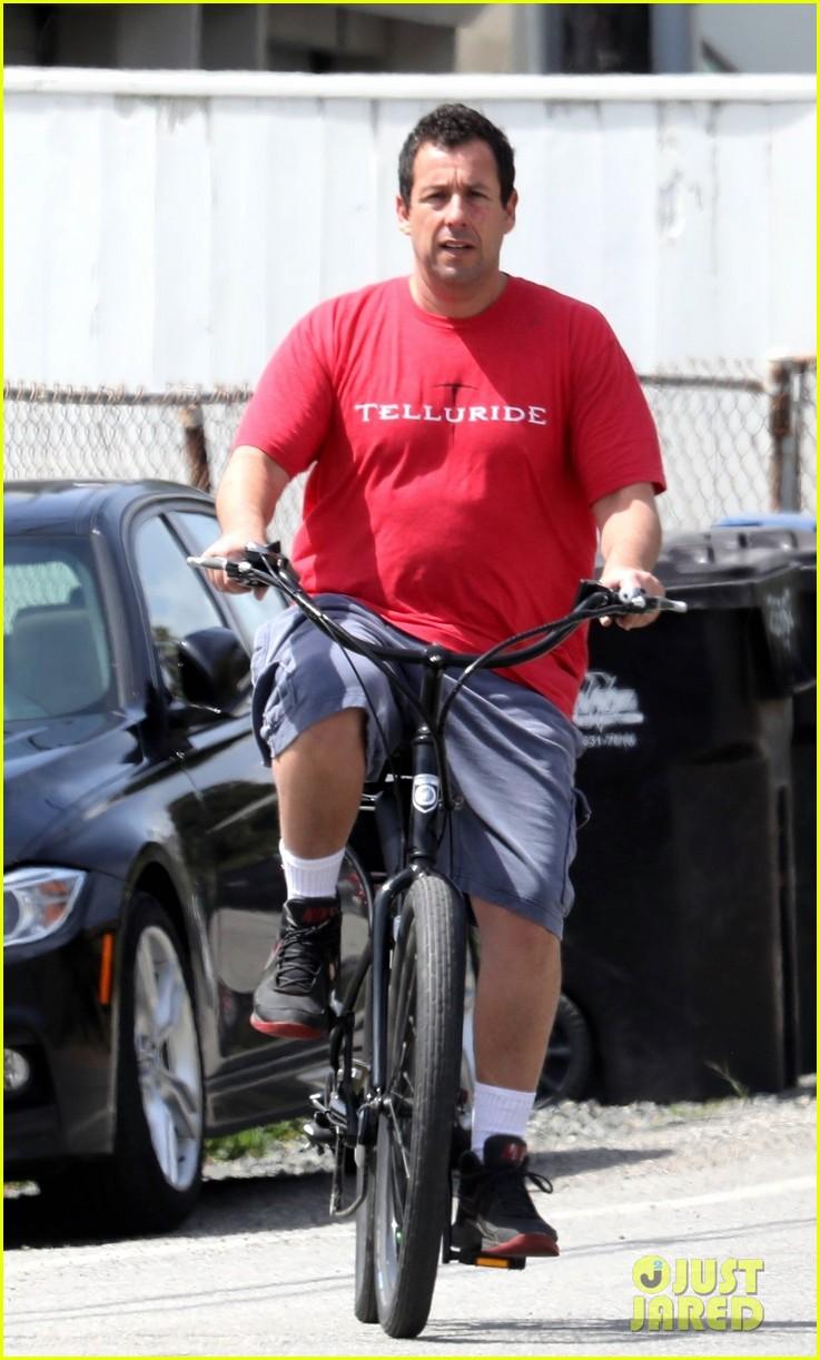adam sandler takes break self quarantining for bike ride 034451724