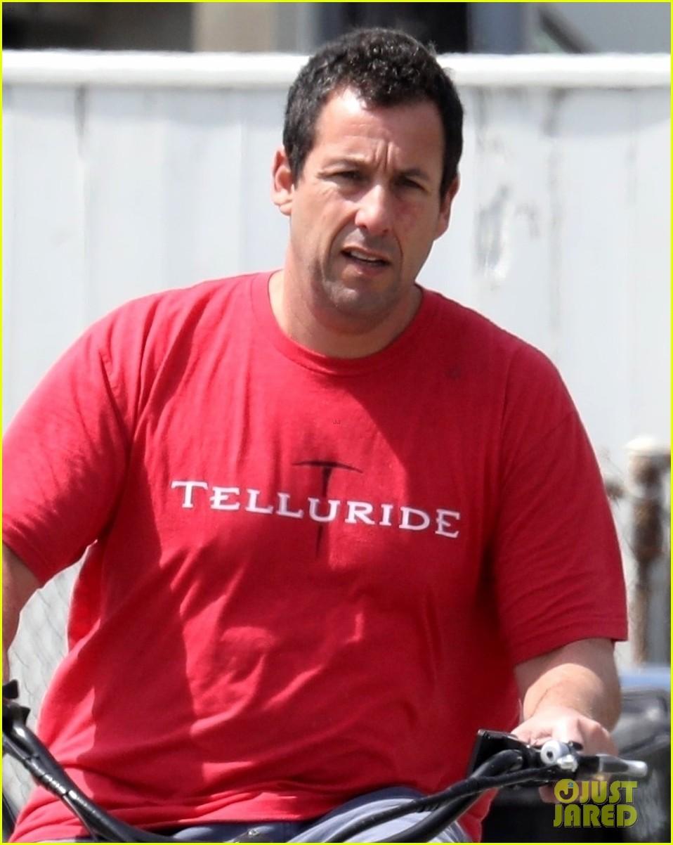 adam sandler takes break self quarantining for bike ride 044451725
