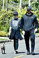 chris pratt katherine schwarzenegger walk with her family 02
