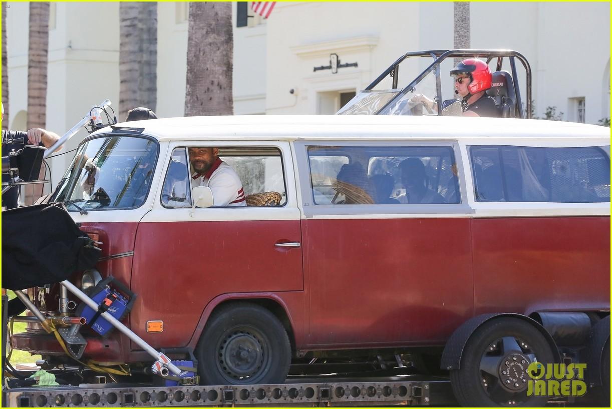 will smith drives van king richard set 034445521