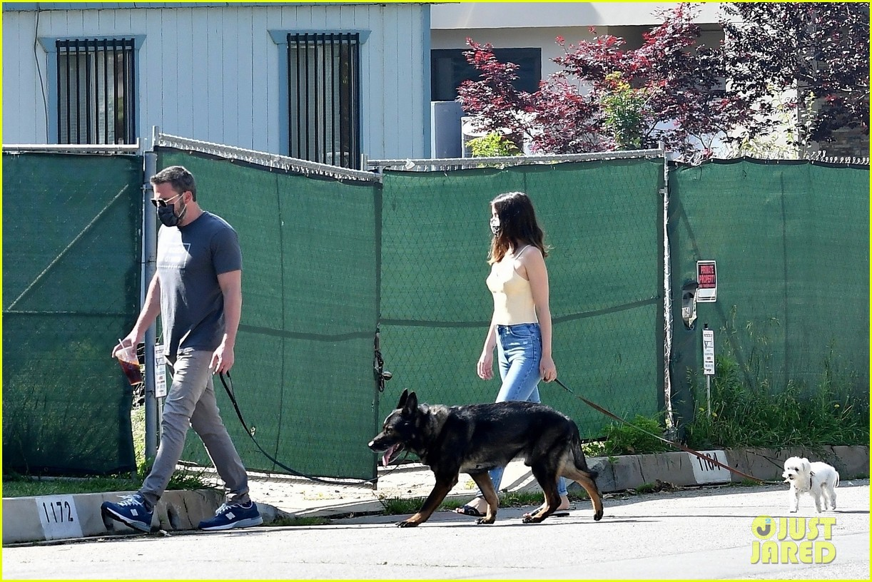 ben affleck ana de armas dog walk tuesday 024456425