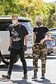 miley cyrus cody simpson wear masks on their coffee date 01