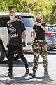miley cyrus cody simpson wear masks on their coffee date 13