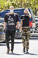 miley cyrus cody simpson wear masks on their coffee date 25