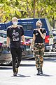 miley cyrus cody simpson wear masks on their coffee date 29