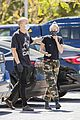 miley cyrus cody simpson wear masks on their coffee date 37