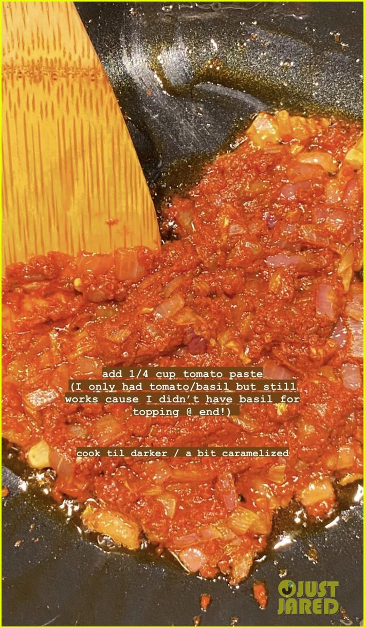gigi hadid spicy salsa recipe no vodka 034456817