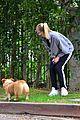 joe jonas sophie turner monday dog walk 05