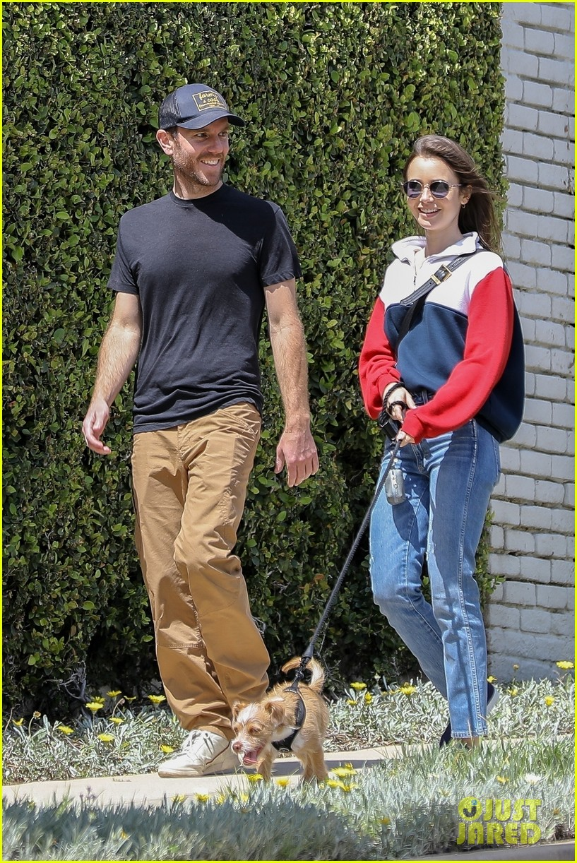 lily collins charlie mcdowell quarantine april 2020 014453300