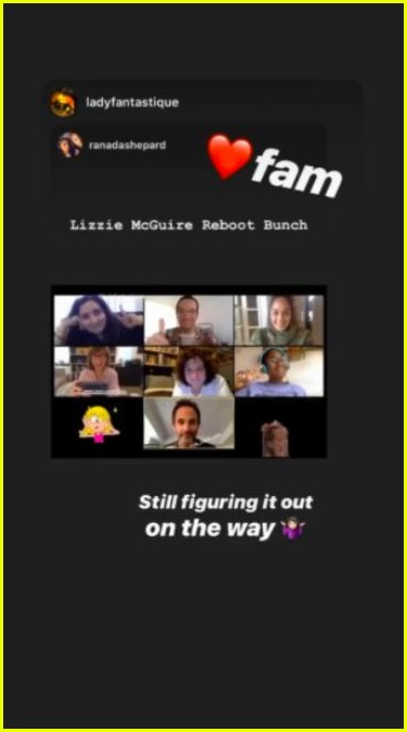 the lizzie mcguire reboot writers just had a video chat 014453260