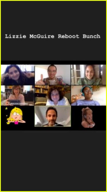 the lizzie mcguire reboot writers just had a video chat 024453261