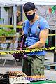 joel mchale buff biceps at farmers market 24