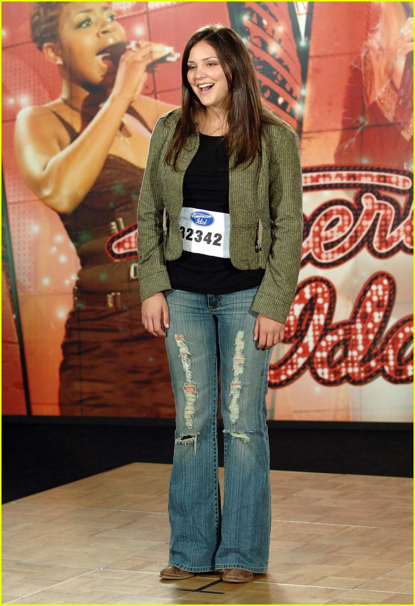 katharine mcphee tries on american idol outfits 014453142