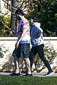 chris pratt katherine schwarzenegger on a walk 09